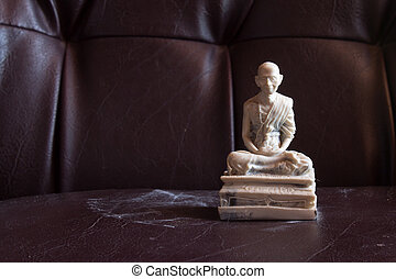 Still Life Thai Monk Marble, Kru Ba Sri Vi Chai