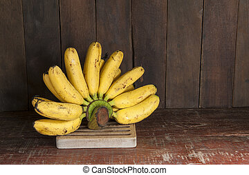 still life with banana