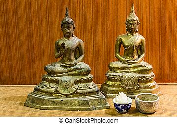 Still Life With Buddha statue