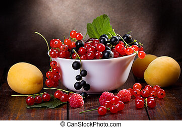 fresh fruits and berries