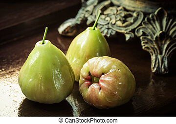 still life with rose apple or chompu