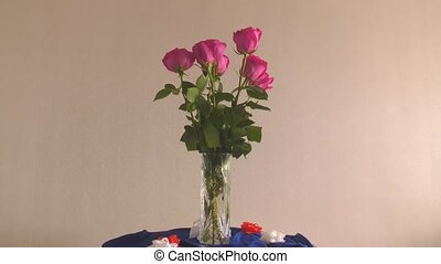Still life with roses - Still life with flowers roses