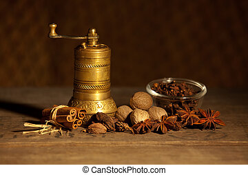 Still life with spice