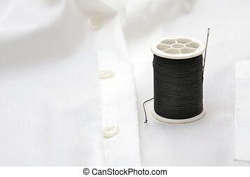 still life with thread