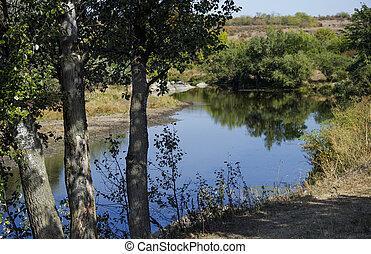 still river - the small still hush river