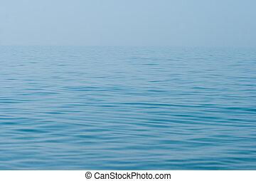 stille stille, meerwasser, oberfläche