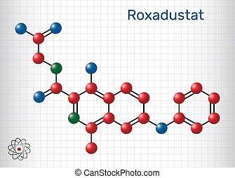 stimulates, inhibitor, roxadustat, blod, produktion, den, ...