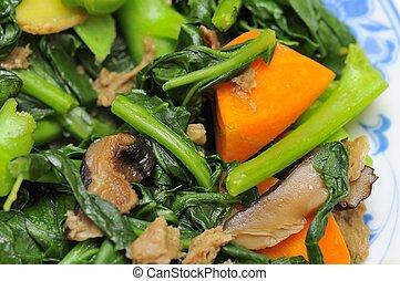 Stir fried vegetarian cuisine