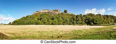 Stirling Castle panorama - A panorama of Stirling Castle,...