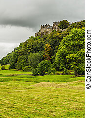 Stirling Castle - UK, Scotland, View of the Stirling Castle.