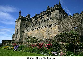 Stirling Castle in Stirling, Scotland.