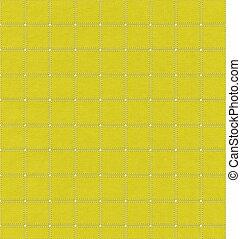 Stitch pattern on fabric texture background