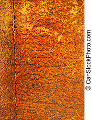 Stitched leather a - Old, worn, aged leather textured...