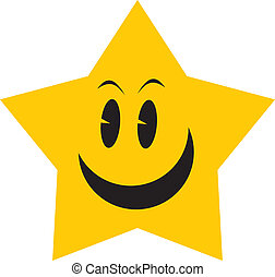stjärna, gul
