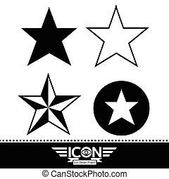 stjärna, ikon