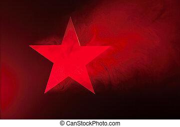 stjärna, röd