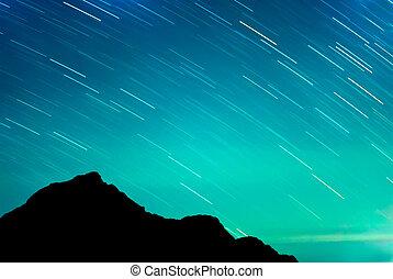 stjärna, spåra