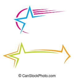 stjerne, iconerne