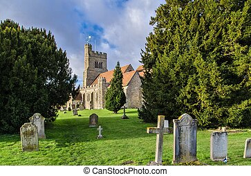 St.John the Baptist Church , Harrietsham , Kent