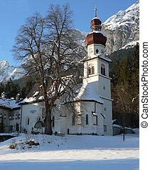 The church St.Martin in Tirol