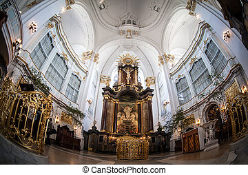 St.Michael's church in Hamburg