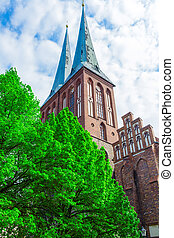 st.nikolai, 教会, ドイツ, ベルリン