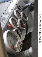 Stock Car Racing Interior