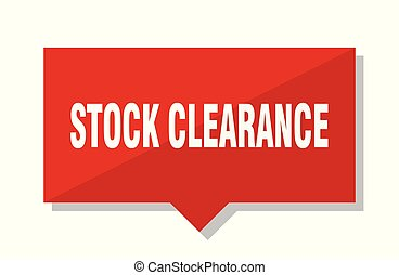 stock clearance red tag - stock clearance red square price...