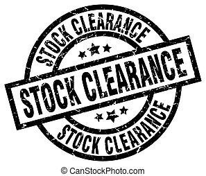 stock clearance round grunge black stamp