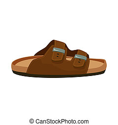 stock., collection, signe., illustration, bitmap, chaussures, pied, chaussure, icône