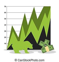 stock exchange design, vector illustration eps10 graphic