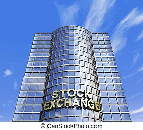 stock exchange headquarter