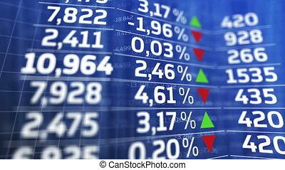 """Stock exchange market business concept"""
