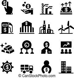 Stock exchange & Stock Market icons