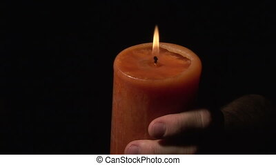 Stock Footage - Candle