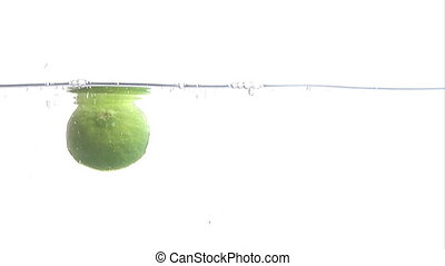 Stock Footage of a Lime