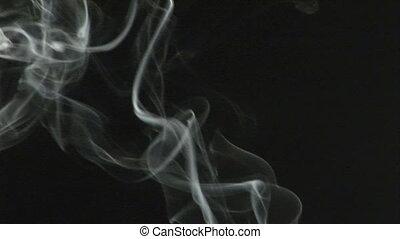 Stock Footage of Rising  Smoke