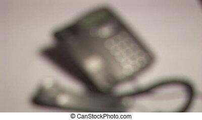 Stock Footage - Telephone