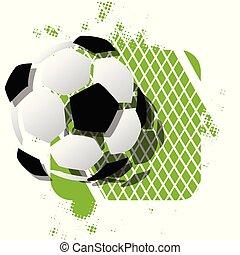 Stock Illustration Abstract Soccer Ball