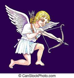 Stock illustration of Cupid