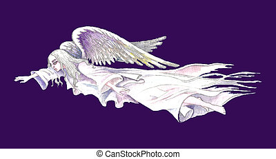 Stock illustration of Guardian Angel