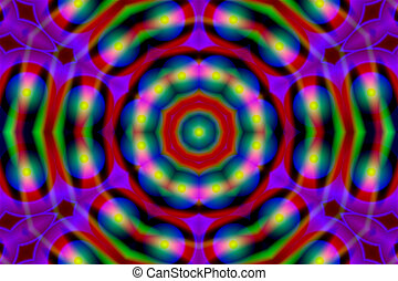 Stock Image of Abstract Kaleidoscope