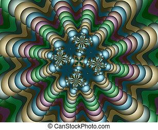 Stock image of Alien Fractal Art