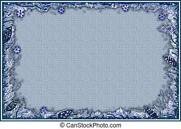 Stock image of Christmas Frame