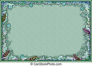 Stock image of Christmas Frame