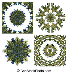 Stock Image of Christmas Wreath Decorations