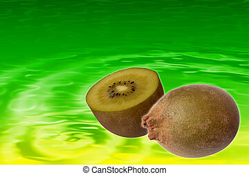 Stock image of Kiwi Juice Background