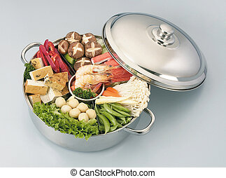 steamboat - stock image of the steamboat-asian cusine