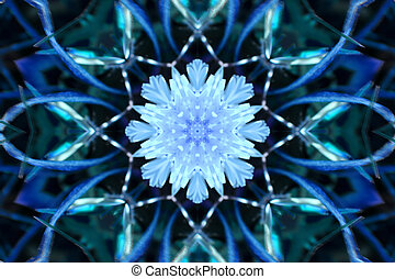 Stock image of Winter Kaleidoscope