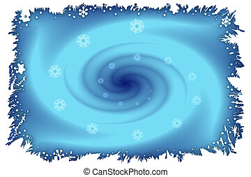 Stock image of Winter Vortex